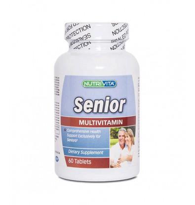 خرید اینترنتی قرص مولتی ویتامین سینیور نوتری ویتا 60 عددی