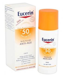 فلوئید ضد آفتاب ضد چروک SPF50 اوسرین 50 میلی لیتر