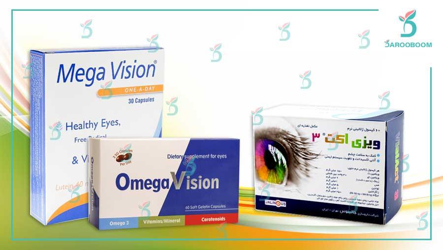 محصولات مراقبت چشم