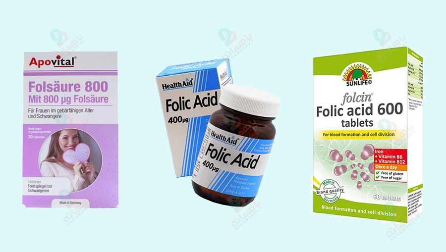 بهترین قرص فولیک اسید